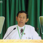 Chair of Myanmar Military Proxy Party Will Run for Parliament